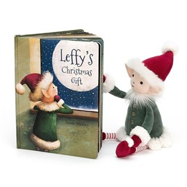 Jellycat Leffy's Christmas Gift Book
