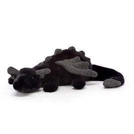 Jellycat Onyx Dragon Little Soft Toy