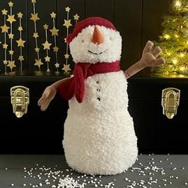 Jellycat Teddy Snowman Large Soft Toy