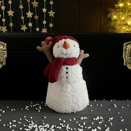 Jellycat Teddy Snowman Soft Toy