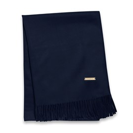 Katie Loxton Wrapped Up In Love Boxed Scarf In Navy