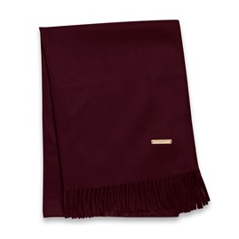 Katie Loxton Wrapped Up In Love Boxed Scarf In Burgundy