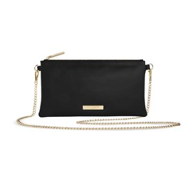 Katie Loxton Personalised Freya Crossbody Bag In Black