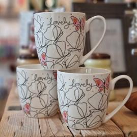 Luxury Tulip 'Lovely' Bone China Mug
