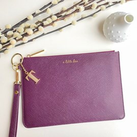 Katie Loxton Personalised 'A Little Love' Secret Saying Clutch Bag
