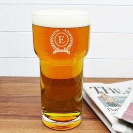 Personalised Monogrammed LSA Pint Glass