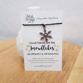 Christmas Wish Bracelet 'Snowflake'