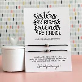 'Sisters' Duo Star Wish Bracelet