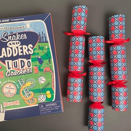 Christmas Crackers With Snakes N Ladders