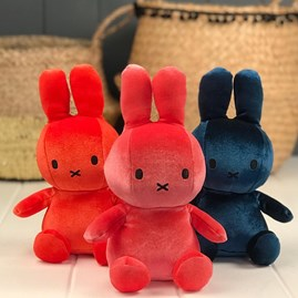 Candy Pink Velvet Miffy