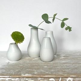 Porcelain Mini Vases Set of 4