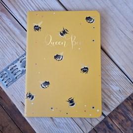 'Queen Bee' Hardback Notebook