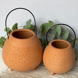 Terracotta Outdoor Lantern