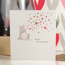 Caroline Gardner 'You're My Favourite' Card