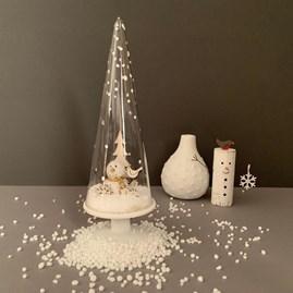 Snowman In A Snow Cone