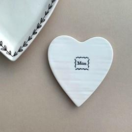 'Mum' Porcelain Coaster