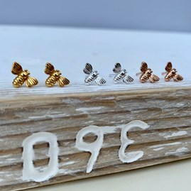 Mini Bee Stud Earrings