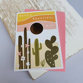 'Have A Beautiful Day' Greetings Card
