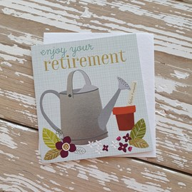 'Enjoy Your Retirement' Greetings Card
