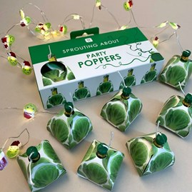 Botanical Sprout Poppers Pk of 8