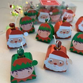 Santa And Elf Poppers