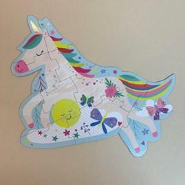 Unicorn 12 Piece Shaped Jigsaw Puzzle