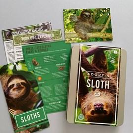 Adopt a Sloth Gift Box
