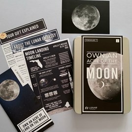 Own An Acre Of The Moon Gift Tin