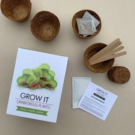Grow It Carnivorous Plants Gift Box