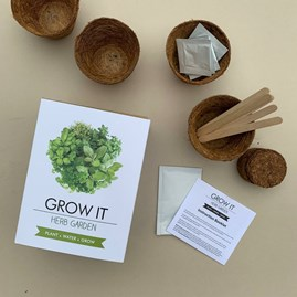 Grow It Herb Garden Gift Box