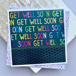 'Get Well Soon' Greetings Card