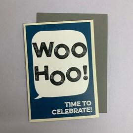 'Woo Hoo!...' Greetings Card