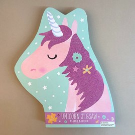 Unicorn 40 Piece Shaped Jigsaw Puzzle