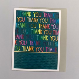 'Thank You' Greetings Card