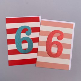 Children's 6th Birthday Card