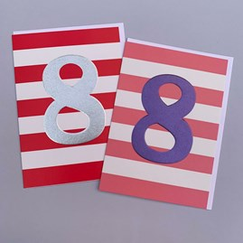 Children's 8th Birthday Card