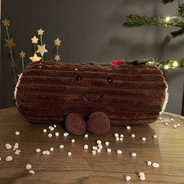 Jellycat Amuseable Yule Log Soft Toy