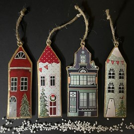 Townhouse Hanging Decoration