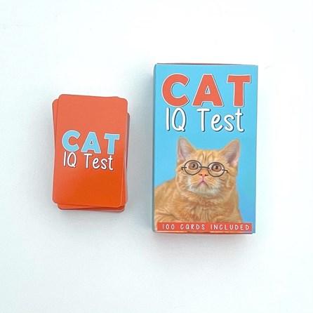 100 Cat I.Q. Test Cards