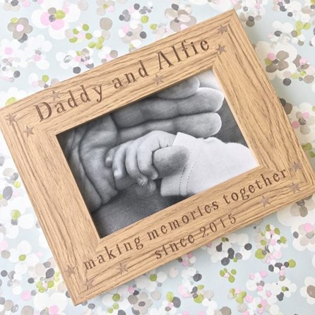Personalised 'Making Memories' Photo Frame