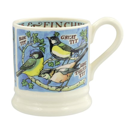 Emma Bridgewater Tits and Finches 1/2 Pint Mug