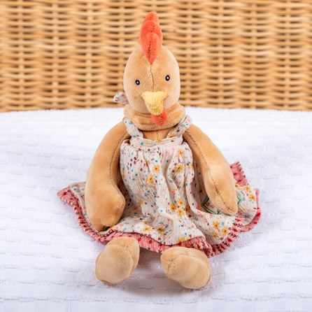 Moulin Roty Felicie The Hen Soft Toy