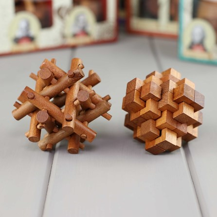 Set Of Two Puzzles Based On Great Minds