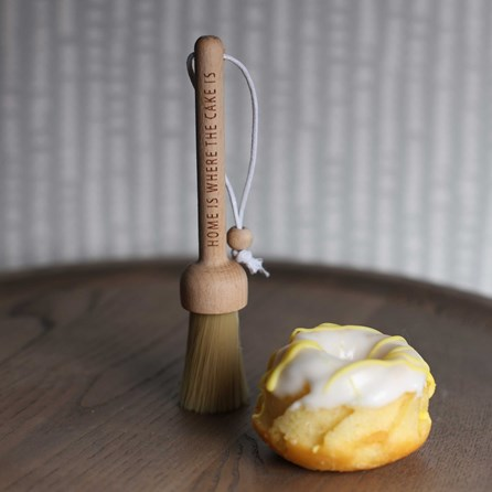 Kitchen Baking Brush 'Home Is Where The Cake Is'