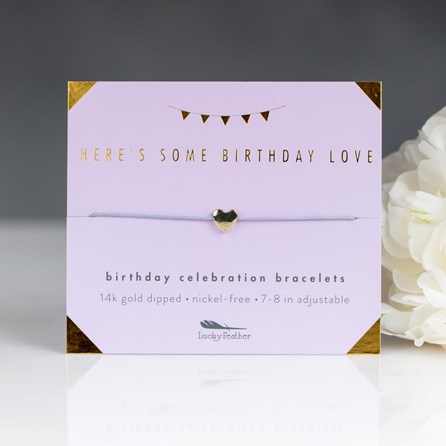 'Birthday Love' Celebration Birthday Bracelet
