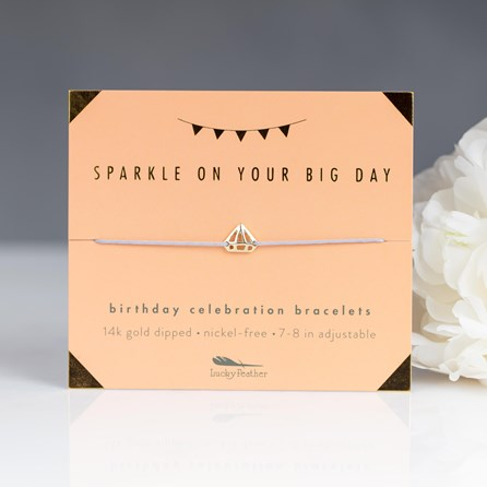 'Sparkle…' Celebration Birthday Bracelet