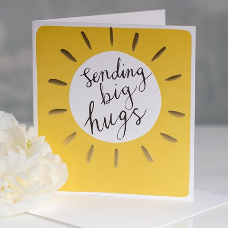 Caroline Gardner 'Sending Big Hugs' Greetings Card