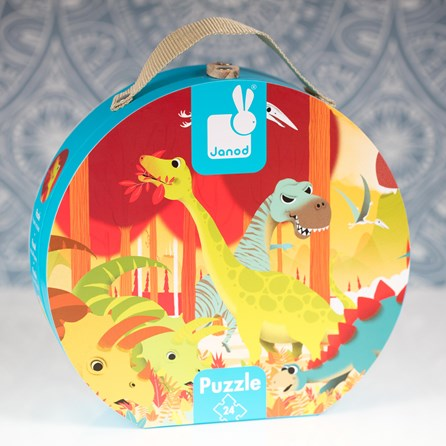 Dinosaurs Hat Boxed Puzzle