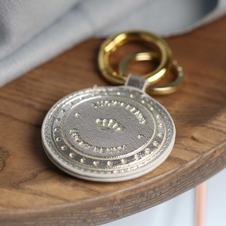 'Lucky Penny' Coin Inspired Keyring