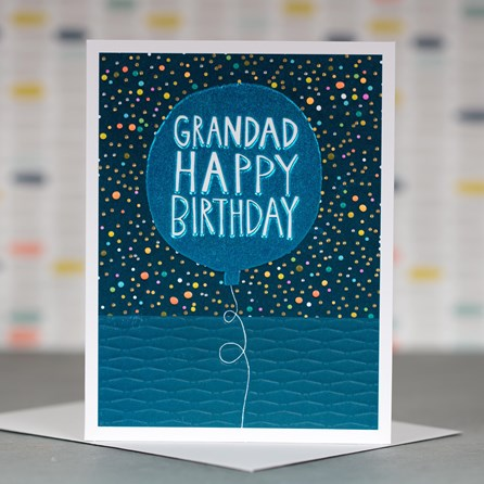 'Grandad Happy Birthday' Greetings Card